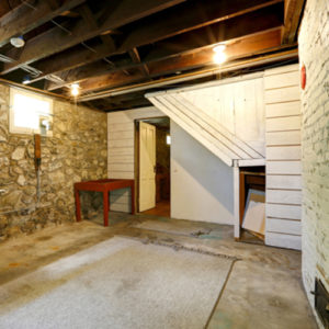 keep moisture out of basement