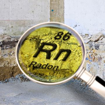 prevent radon from entering house