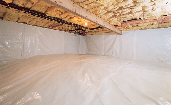 Tennessee Crawl Space after Crawl Space Moisture barrier and waterproofing