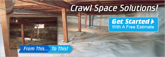 Crawl Space Mold and Moisture Repair in TN, KY, and AL